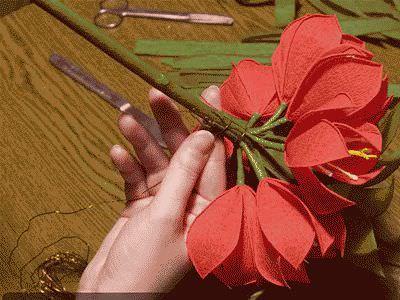Цветы своими ркуками