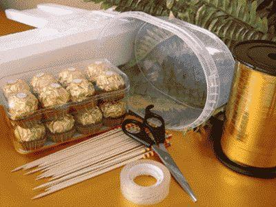 букет с трюфилей