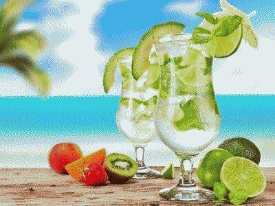 барный напиток мохито