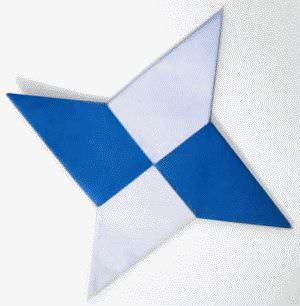 оригами сюрикен