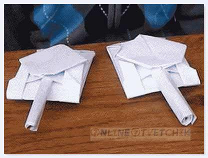 Поделки из бумаги самому
