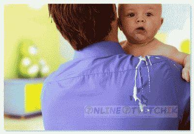 Что может вызвать срыгивание у детей