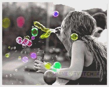 Сделать мыльные пузыри дома