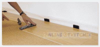 Использовать ламинат дома