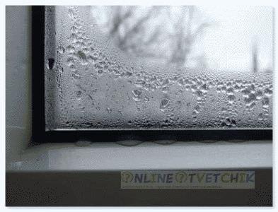 Пластиковые окна потеют причины