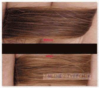 Осветление волос - результаты