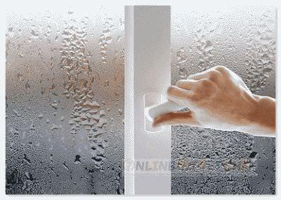 Дома запотевают окна