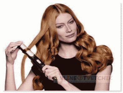 Сделать локоны из прямых волос