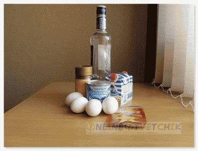 Ингредиенты для ликера