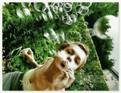 Мыльные пузыри - игры с ними
