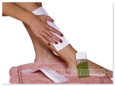 Эпиляция ног и зоны бикини