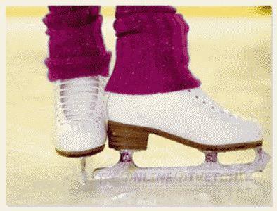 Задки кататься и тормозить на коньках