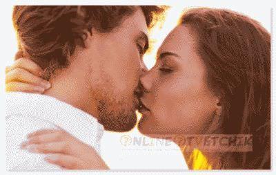 Самым душевным чувством является поцелуй взасос