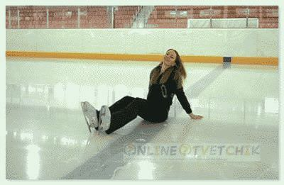Правильно кататься и тормозить на коньках