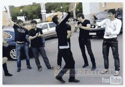 Танцевать лезгинку на улице
