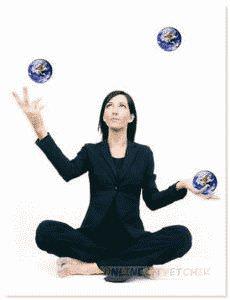 Использовать больше 2-х предметов во время жонглирования