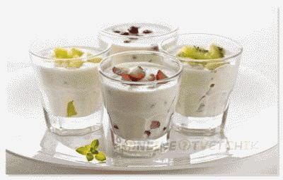Полезность натурального йогурт