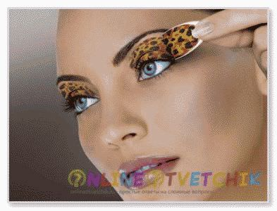 Для разных цветов глаз макияж - специальный