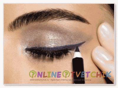Карандаш – один из основных косметических средств для макияжа глаз