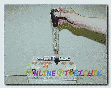 Электролит можно долить