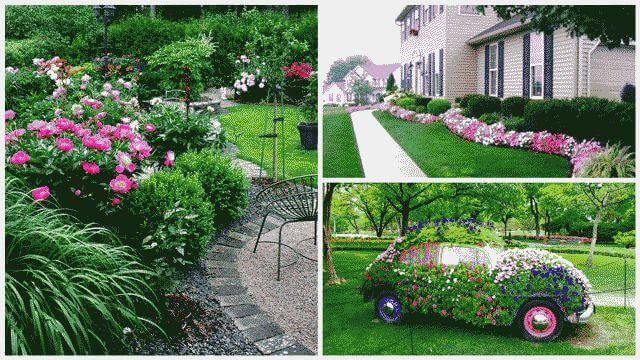 Как красиво оформить приусадебный участок садоводов
