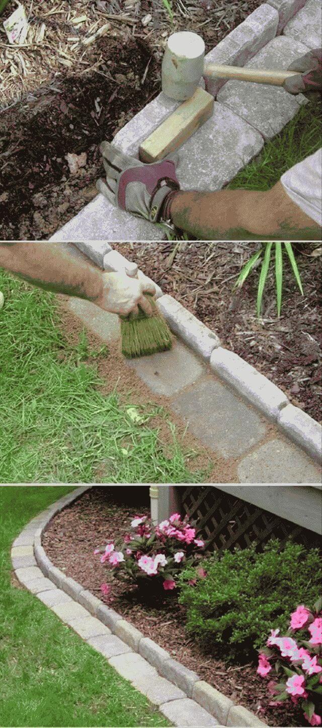 Как оформить клумбу на даче своими руками: фото