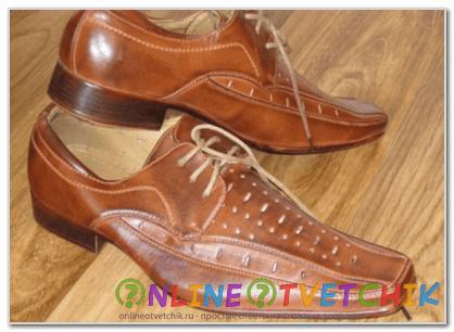 Как убрать запах новой обуви?