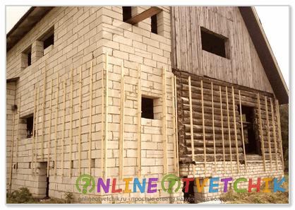При использовании других утеплителей приходится выравнивать стену