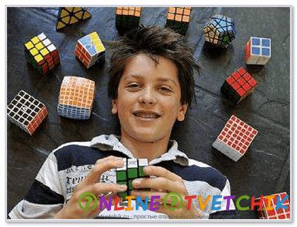 Собрать кубик быстро