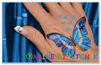 Как красиво нарисовать бабочку