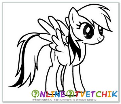 Как нарисовать пони правильно