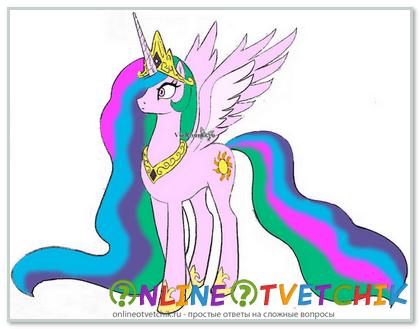 Как нарисовать сказочного пони