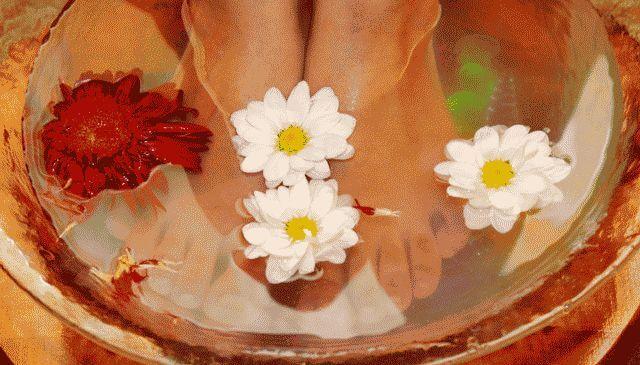 Ванночки для ног от пота и запаха
