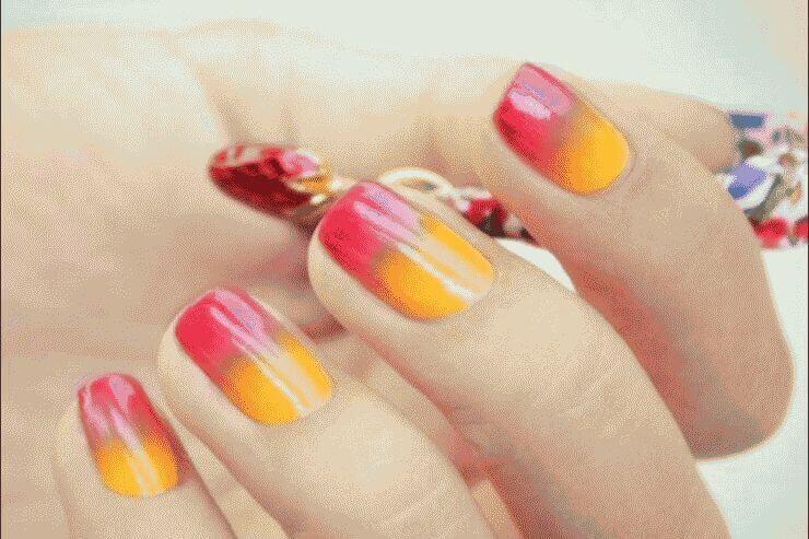 manicure-greadient