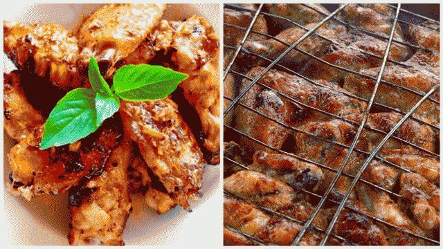 Рецепт маринада для куриных крылышек на мангале