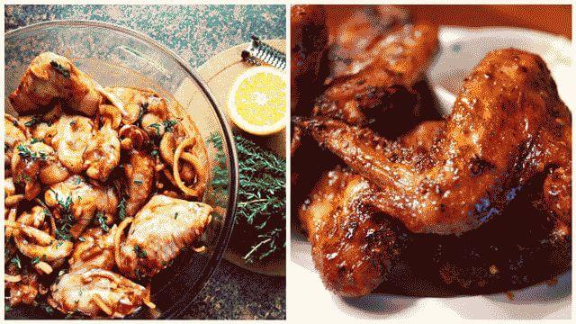 Рецепт маринада для куриных крылышек барбекю