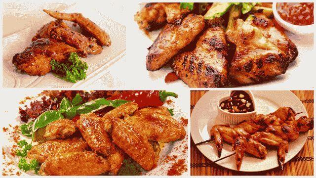 Рецепты маринада для куриных крылышек на гриле