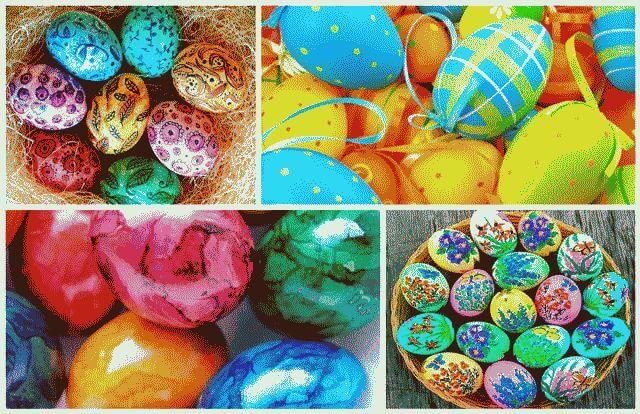 Как покрасить яйца на пасху своими руками?