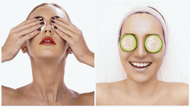Зеленый чай для красоты глаз