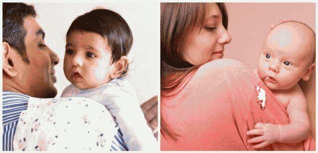 Почему ребенок начал срыгивать в 2 месяца