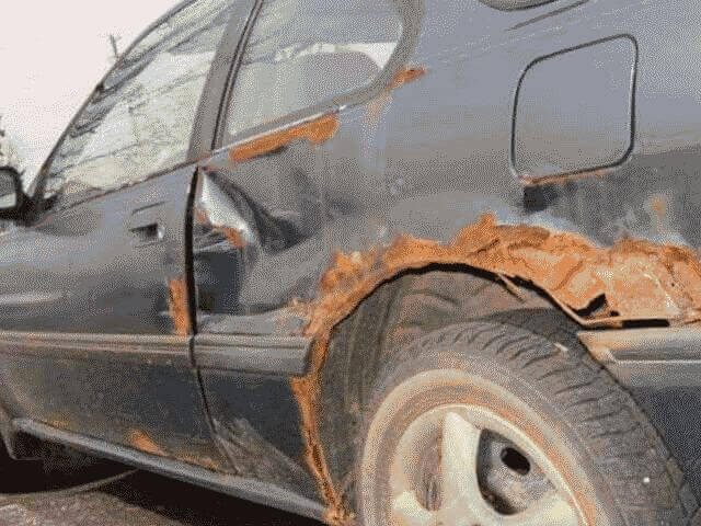 Как эффективно убрать ржавчину с кузова автомобиля
