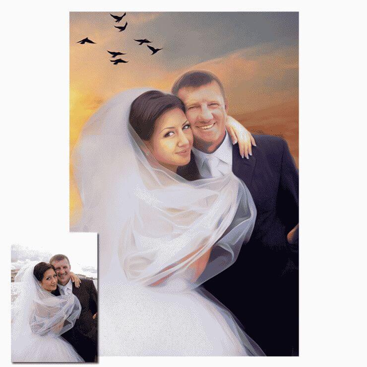 назвать мужским картина на холсте с фотографии свадьба раменское подарку забудьте