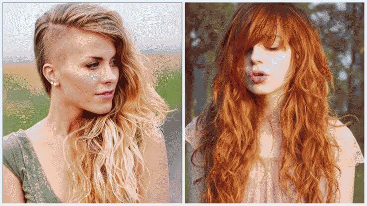 Стрижки на дли волосы